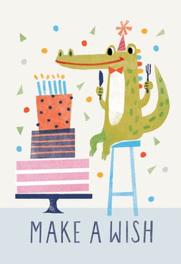 Wishful Thinking - Happy Birthday Card