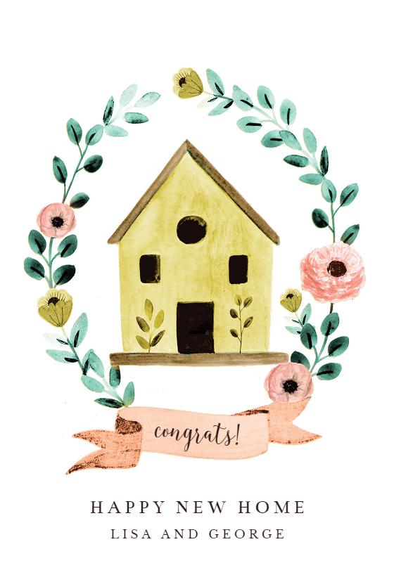 Bird House Congratulations Card Free Greetings Island