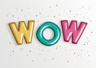 Fab Balloons - Congratulations Card