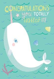 Go Big - Congratulations Card