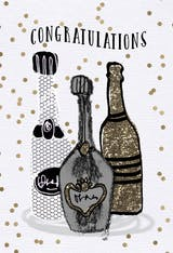 Libations - Congratulations Card