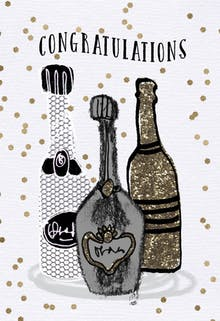 Libations - Retirement Card