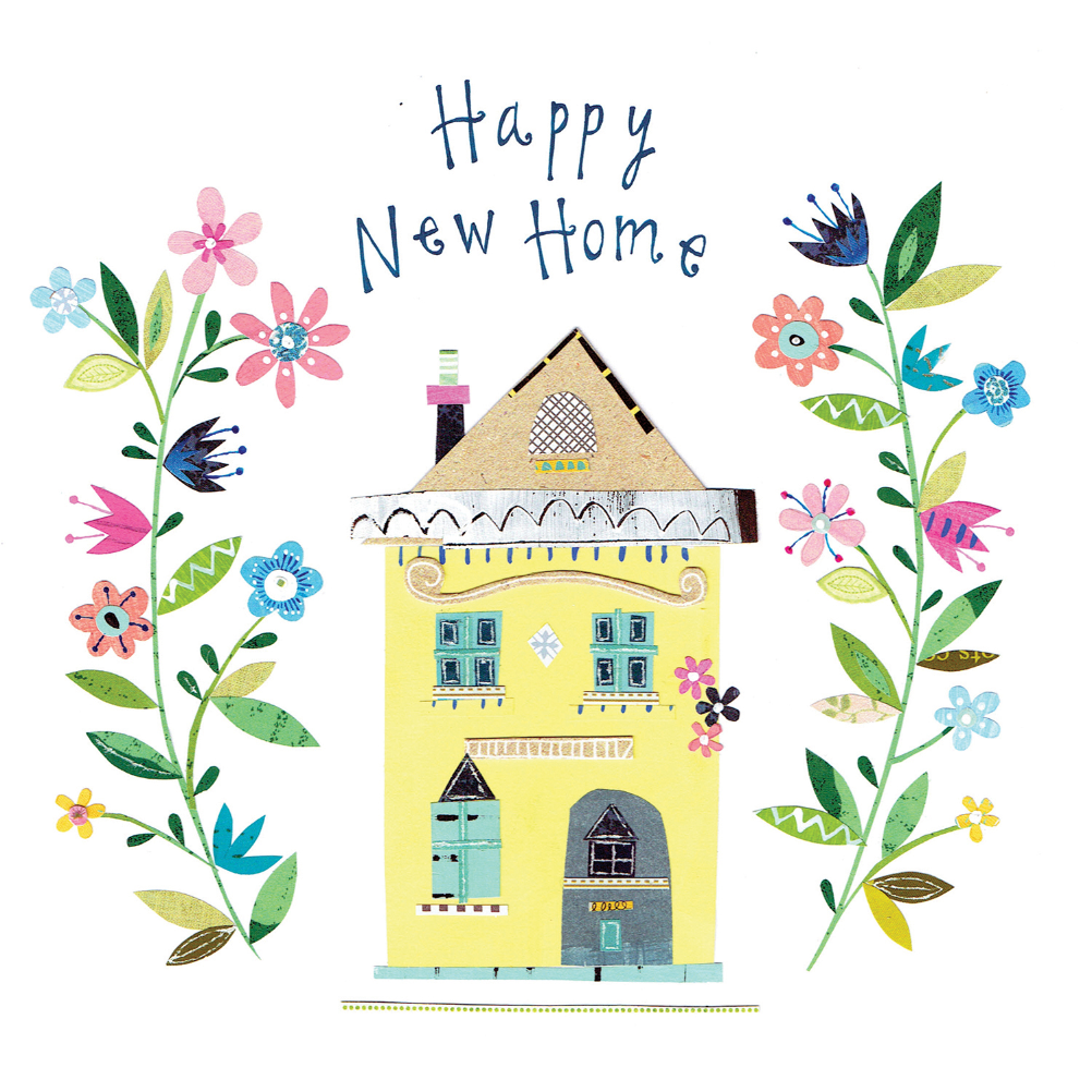 Happy New Home - Congratulations Card (Free)