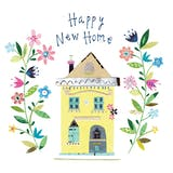 Happy new home - Congratulations Card