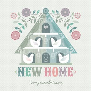 Nouveau Nest - Congratulations Card