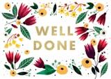 Well done - Tarjeta De Felicitación