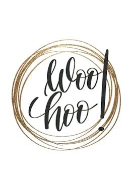 Woo Hoo - Congratulations Card