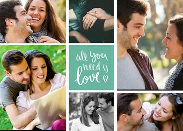 All You Need Is Love - Anniversary Card