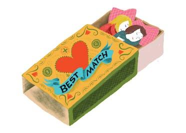 Best Match - Valentine's Day Card