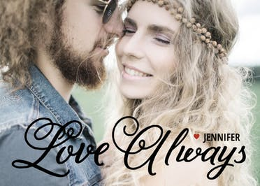 Love Always - Happy Anniversary Card