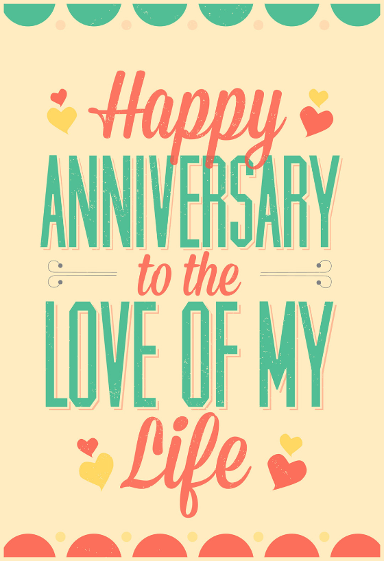 image relating to Happy Anniversary Printable Card titled Anniversary Playing cards (Absolutely free) Greetings Island