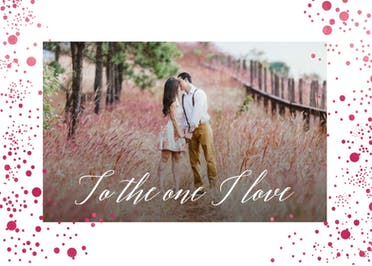 Pure Love - Happy Anniversary Card