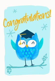 Best Futures - Printable Graduation Congratulations Card