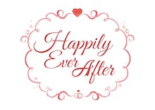 Ever After White - Wedding Congratulations Card