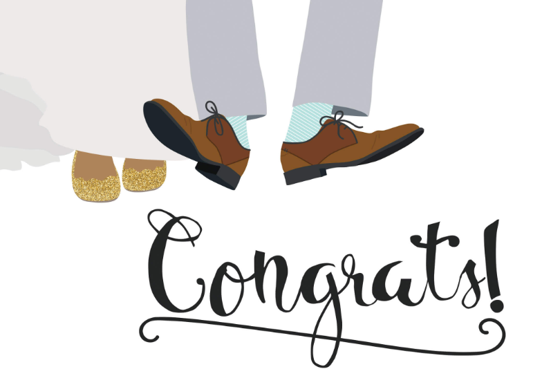 Happy Dance - Free Wedding Congratulations Card ...