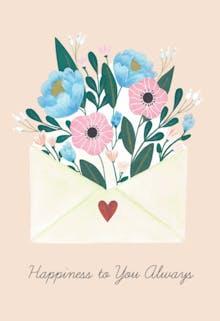 Joyful Day - Wedding Congratulations Card