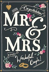 New Titles - Wedding Congratulations Card