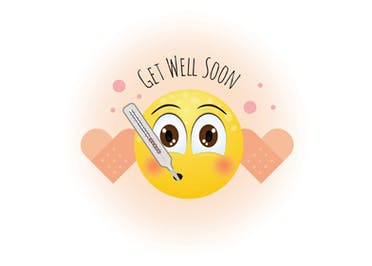 Better Days - Get Well Soon Card