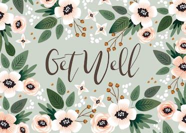 Get Well - Get Well Soon Card