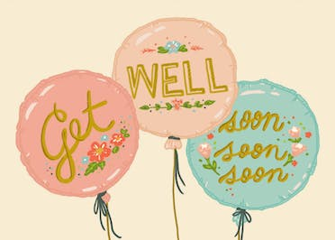 Soon soon soon - Get Well Soon Card