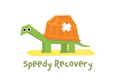 Speedy Recovery - Get Well Soon Card