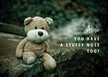 Stuffy 2 - Get Well Soon Card