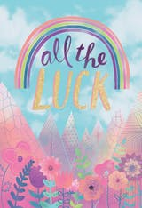 Dream Catcher - Good Luck Card