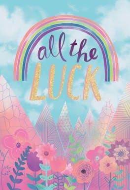 Dream Catcher - Good Luck Card