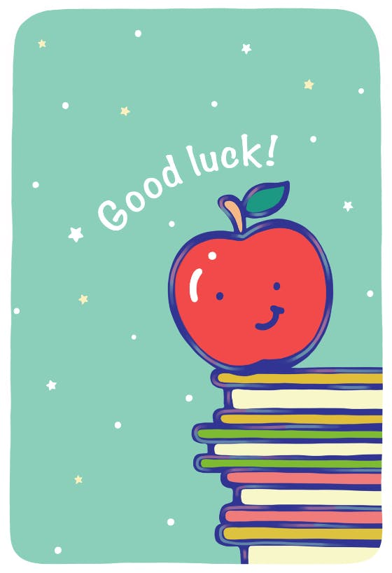 you can do it good luck exams card driving test good luck exams good luck Good luck card school good luck test good luck new job card