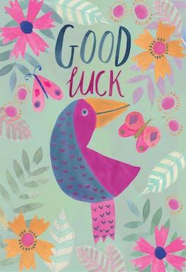 Rainforest - Good Luck Card