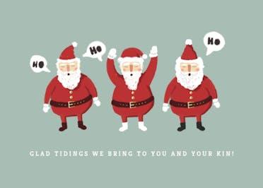 Beard Boys - Tarjeta De Navidad