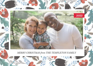 Fresh winter - Christmas Card
