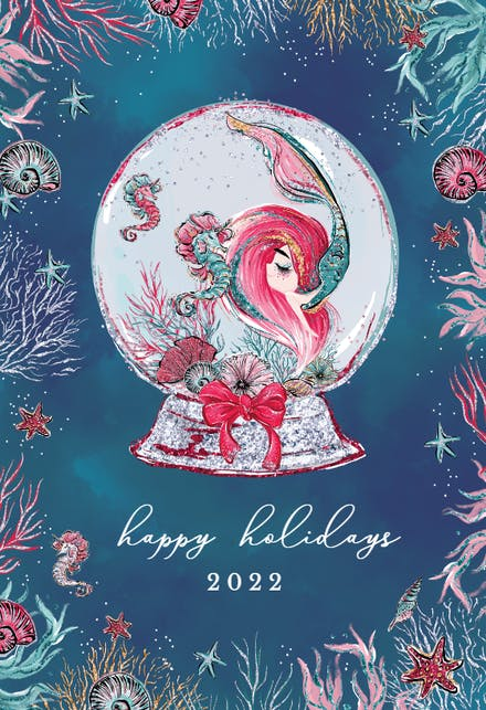 Printed Christmas Cards 2021 With 3 Photos Christmas Cards Free Greetings Island