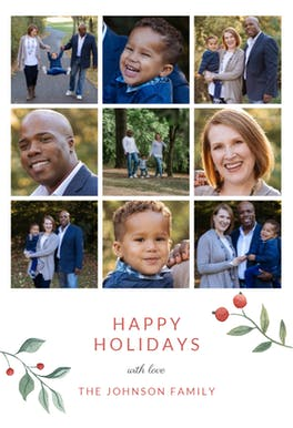 Multi Photo - Tarjeta De Navidad