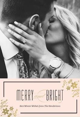 Newlywed - Christmas Card
