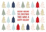 Rockin Around - Christmas Card