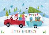 Santas caravan - Christmas Card