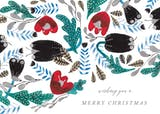 Winter Pattern - Christmas Card