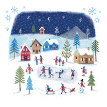 Winters Tale - Tarjeta De Navidad