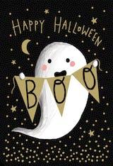 Boo Who - Halloween Card