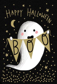 Boo Who - Halloween Card