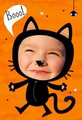 Cats Meow - Halloween Card