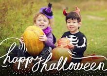 Halloween Photo - Card