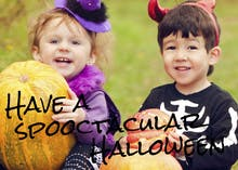 Spooktacular Photo - Halloween Card