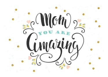 Amazing Mom - Mother's Day Card