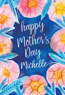 Botanical - Mother's Day Card