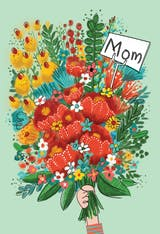 Bouquet Day - Mother's Day Card