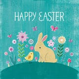 Bunny Hill - Easter Card