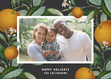 Citrus tree - Christmas Card