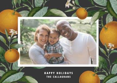 Citrus tree - Holidays Card